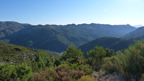 Jalon Valley views