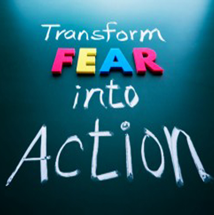 FEAR: The phantom that keeps you on the wrong side of a breakthrough…