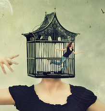 You have an unseen mental cage keeping you limited and small.