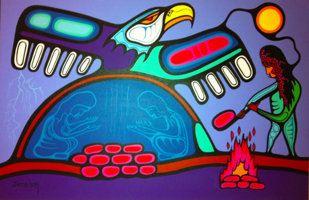 Sweat lodge art