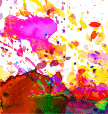 Transformational Flow Painting – Paint like a kid and set yourself free!
