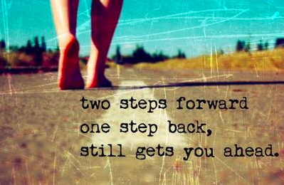 Two steps forward and one step back – out of alignment.