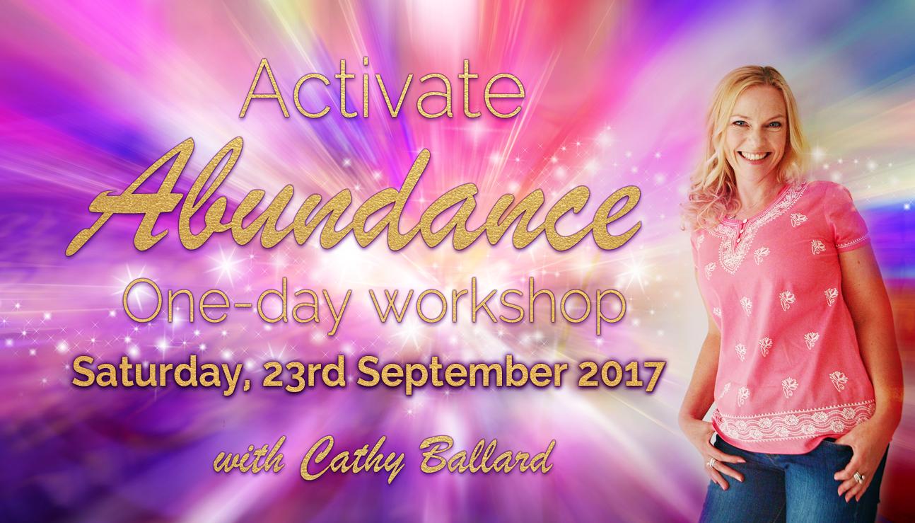Activate Abundance 1-day Workshop