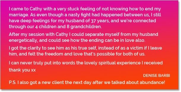 Testimonial Denise