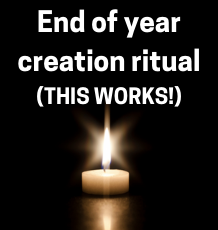 This creation ritual really works!