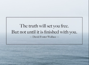 The truth will set you free - 4